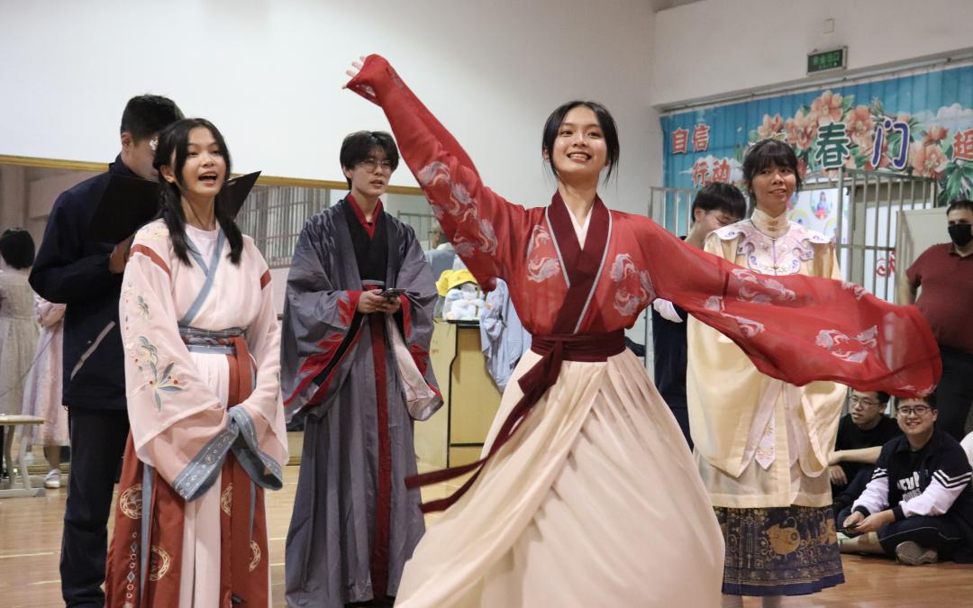 中国文化永流传——嘉高中加班的中国文化节